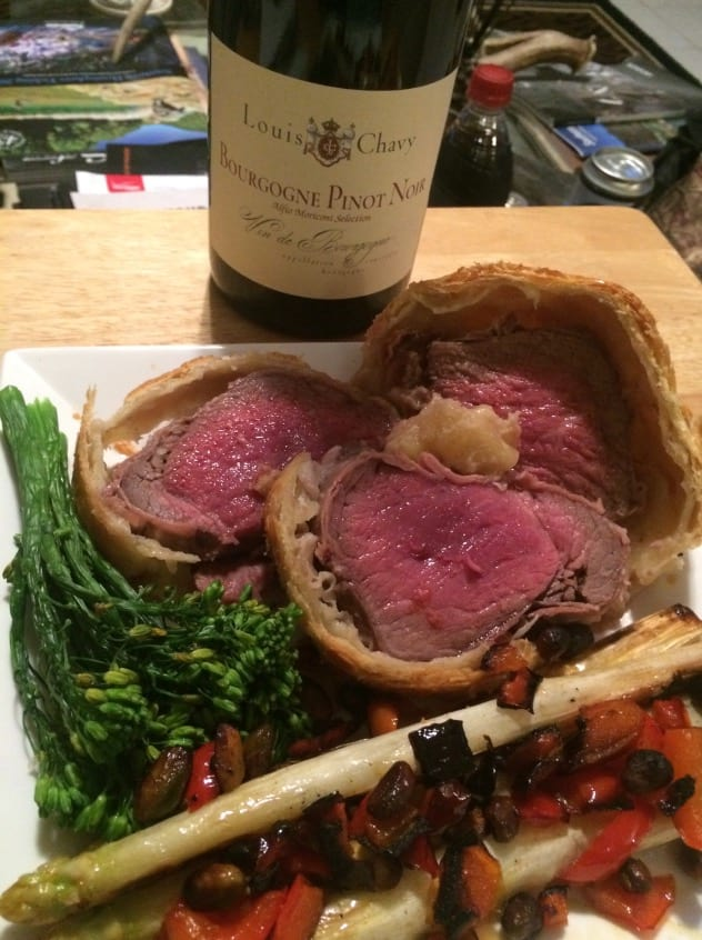 Axis Beef Wellington- John Humbert